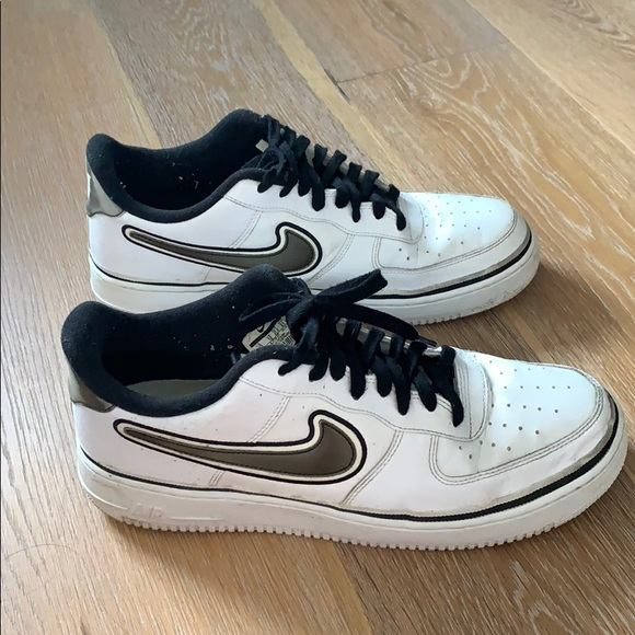 Nike Shoes Air Force 1 Low Sport Nba White Black Poshmark